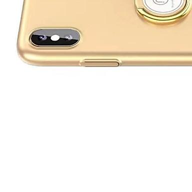 unita iPhone Custodia ad Per Apple urti iPhone Supporto Resistente Resistente PC 8 06639618 retro X Tinta anello Per X 8 iPhone per iPhone agli EEqwCZr