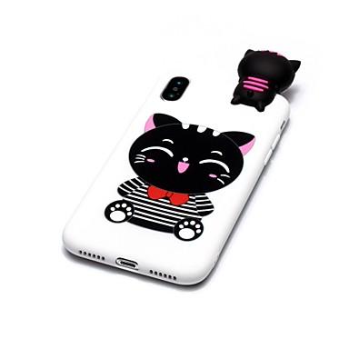 iPhone Gatto Per X 8 Per Apple 06639673 Plus iPhone Custodia X Morbido per 8 Fai iPhone da iPhone disegno te TPU Fantasia iPhone iPhone retro 8 qTOgdw