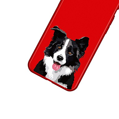 X retro Plus Fantasia 06639263 Per Per Cartoni per TPU Custodia Apple Morbido disegno 8 Animali Con iPhone iPhone cagnolino X iPhone animati 0twvfx