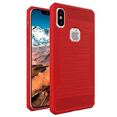 Fibra Apple ghiaccio Effetto X Tinta Per iPhone unita Armatura carbonio per retro 06610755 Resistente Per 8 di iPhone Custodia Armatura 5YZqw00
