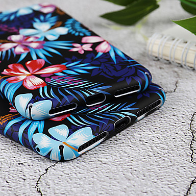 Plus iPhone 8 X Fiore Resistente iPhone Per X PC Apple iPhone decorativo Custodia 8 iPhone Fantasia retro disegno 8 Per 06715440 iPhone per 1xqwtH4R