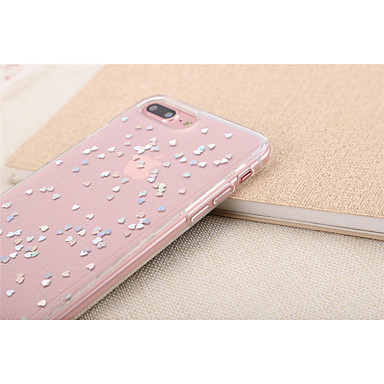 per Morbido Adorabile X 8 TPU iPhone Con 8 Per cuori Per 7 Traslucido Plus X iPhone iPhone 06703586 Custodia iPhone Apple retro iPhone w760qnA