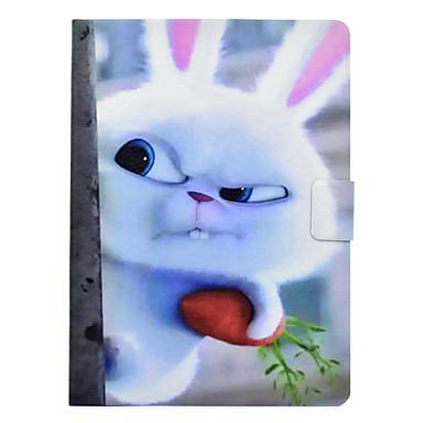 voordelige Samsung Tab-serie hoesjes / covers-hoesje Voor Samsung Galaxy Tab 3 10.1 Kaarthouder / Schokbestendig / met standaard Volledig hoesje dier Hard PU-nahka