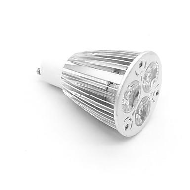 ZDM® 1pc 6 W 700-800 lm GU10 LED Spot Işıkları 3 LED Boncuklar Yüksek Güçlü LED Sıcak Beyaz 85-265 V