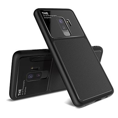 Недорогие Чехлы и кейсы для Galaxy S-Lenuo Кейс для Назначение SSamsung Galaxy S9 Plus / S9 Защита от удара / Матовое Кейс на заднюю панель Однотонный Мягкий ТПУ для S9 / S9 Plus