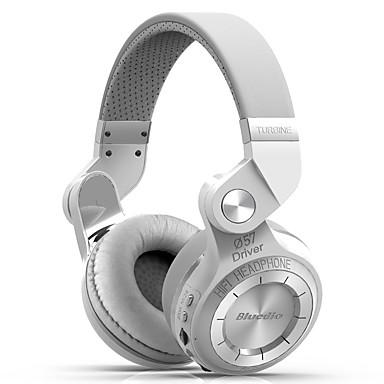 Bluedio T2+ Over-øret hovedtelefon Bluetooth4.1 Rejser og underholdning Bluetooth 4.1 Med volumenkontrol