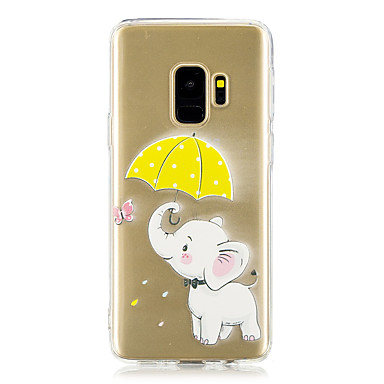 Custodia Per Samsung Galaxy S9 Plus / S8 Plus Transparente / Fantasia / disegno Per retro Elefante Morbido TPU per S9 / S9 Plus / S8 Plus