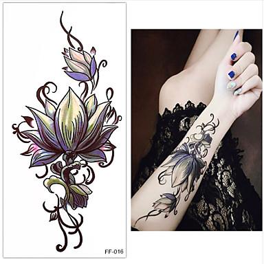 3 pcs Временные тату Временные татуировки Тату с цветами Искусство тела запястье