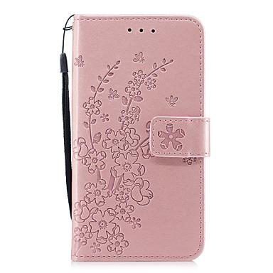 Per pelle magnetica Resistente supporto portafoglio 8 X Custodia iPhone Fiore Integrale iPhone Con Con chiusura decorativo A 06707786 Apple Taqaz7xd
