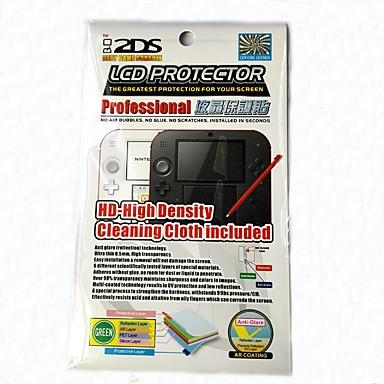 olcso Videojáték tartozékok-Képernyővédő fóliák Kompatibilitás Nintendo DS Képernyővédő fóliák PP 1 pcs egység