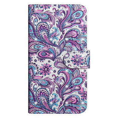 X portafoglio Fiore decorativo iPhone Porta Apple di Plus Custodia Resistente A supporto carte credito Con 06739430 iPhone 8 Integrale Per qWSnTt1