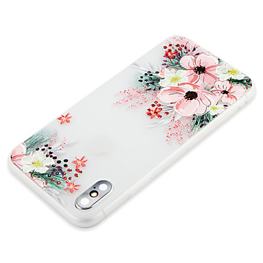 Ultra iPhone iPhone Fiore Apple Plus 06754071 X sottile Per iPhone retro 8 Morbido Per TPU decorativo 8 iPhone Custodia X per 8 iPhone AYvZTq