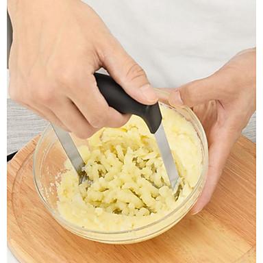 ستانلس ستيل DIY أدوات أدوات السلطة بسيط أدوات متعددة الوظائف أدوات أدوات المطبخ البطاطس سلطة 1PC