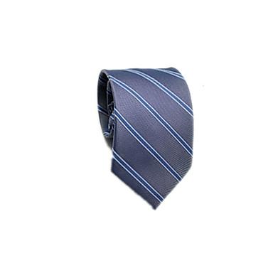 ربطة العنق مخطط رجالي - شريطة عمل / أساسي