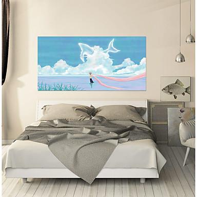 لواصق حائط مزخرفة - لواصق تجريدي / مناظر طبيعية غرفة الجلوس / غرفة النوم