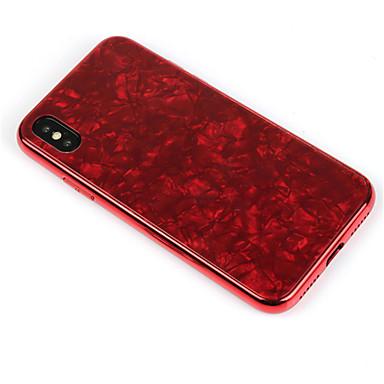 X marmo specchio retro Placcato iPhone Effetto iPhone 8 X A Resistente temperato 06720957 8 iPhone per Per iPhone Apple Per Custodia Vetro 7qwtS8