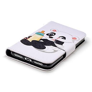 Porta 06721462 A Per iPhone portafoglio credito di Con Plus 8 carte X iPhone Integrale Custodia Apple pelle Resistente Panda supporto WqzB0nwHH1