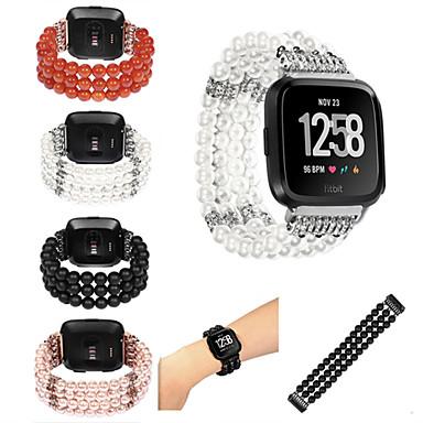voordelige Smartwatch-accessoires-Horlogeband voor Fitbit Versa Fitbit Sportband Nylon Polsband