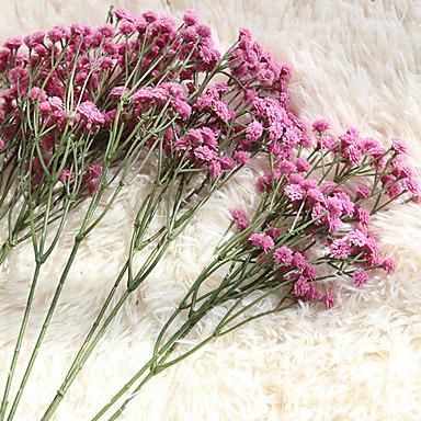 زهور اصطناعية 1 فرع كلاسيكي أوروبي أسلوب بسيط ورادت ناعمة أزهار الطاولة