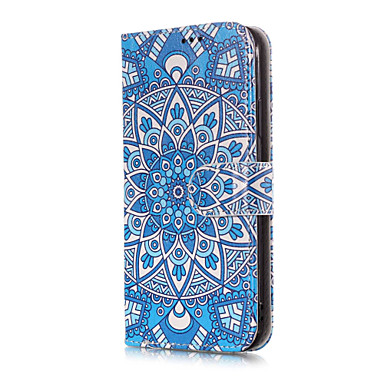 iPhone Porta Apple 8 Integrale Fiori supporto X Plus Custodia credito X carte 8 iPhone Fiore Per per Mandala iPhone pelle decorativo portafoglio sintetica Con di iPhone 06749191 Resistente Plus A q5xFzZ