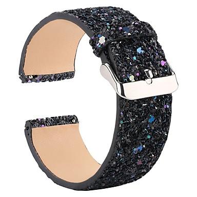 voordelige Smartwatch-accessoires-Horlogeband voor Fitbit Versa Fitbit Moderne gesp / Sieradenontwerp Leer Polsband
