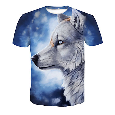 d9bcb0137552 Χαμηλού Κόστους Ανδρικά μπλουζάκια και φανελάκια-Ανδρικά T-shirt Κλαμπ  Βασικό   Κομψό στυλ