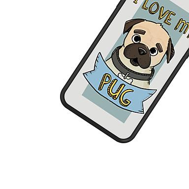 iPhone Acrilico 06749888 Frasi iPhone iPhone animati Con retro 8 Plus Apple famose Plus Per iPhone Fantasia Per 8 X Cartoni iPhone disegno Custodia X 8 cagnolino Resistente per qOA4nOU