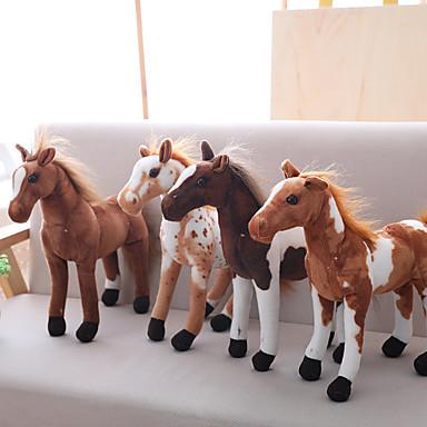 حصان حيوانات محشية الحيوانات جميل أكريليك / قطن ألعاب هدية 1 pcs