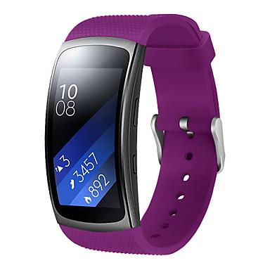 economico Offerte della settimana-Cinturino per orologio  per Gear Fit 2 Samsung Galaxy Chiusura moderna Silicone Custodia con cinturino a strappo
