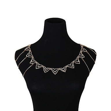 preiswerte Körperschmuck-Mehrlagig Armreif damas, Stilvoll, Modisch, Elegant Damen Gold / Silber Körperschmuck Für Strasse / Bikini / Cosplay Kostüme