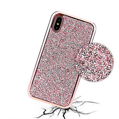X PC Plus diamantini 8 Custodia iPhone Resistente iPhone Glitterato Placcato Apple X per 8 iPhone iPhone 06802573 8 retro Per Con iPhone Per HHOwSqt