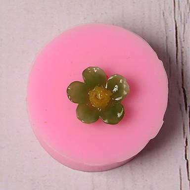 1PC سيليكون عطلة 3Dكرتون خلاق كعكة متعددة الوظائف الشوكولاتي دائري قوالب الكيك أدوات خبز