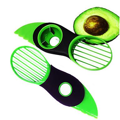 2pcs ادوات المطبخ فولاذ مقاوم للصدأ+بلاستيك محمول / متعددة الوظائف / المنزل أدوات المطبخ أدوات القطع / مزيل البذور / أدوات الفواكه والخضروات للبيت / Everyday Use / للفاكهة