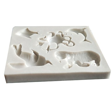 1PC جل السيليكا محبوب 3D كعكة قوالب الكيك أدوات خبز