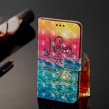 voordelige Galaxy J-serie hoesjes / covers-hoesje Voor Samsung Galaxy J8 / J7 Duo / J2 PRO 2018 Portemonnee / Kaarthouder / Flip Volledig hoesje Woord / tekst Hard PU-nahka