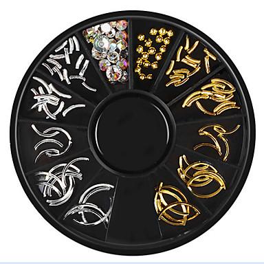 1 pcs تصميم شعبي مجوهرات الأظافر من أجل فن الأظافر تجميل الأظافر والقدمين بانغك