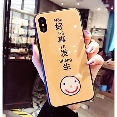 X 8 Vetro iPhone X disegno iPhone Custodia iPhone Per 8 temperato 8 Fantasia Per Frasi per Plus iPhone iPhone famose Apple retro 06812267 Resistente OfTwX