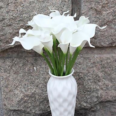 زهور اصطناعية 1 فرع فردي زهري زبنق لالا أزهار الأرض