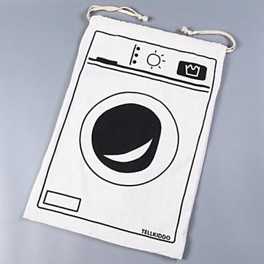 قماش مستطيل نمط هندسي / مضحك الصفحة الرئيسية منظمة, 1PC حقائب التخزين