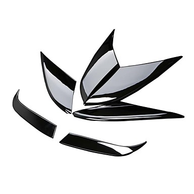 6PCS سيارة الحاجب الخفيف الأعمال التجارية نوع اللصق إلى مصابيح الضباب الأمامية من أجل بعرسك ماكان / كايمان 2014 / 2015 / 2016