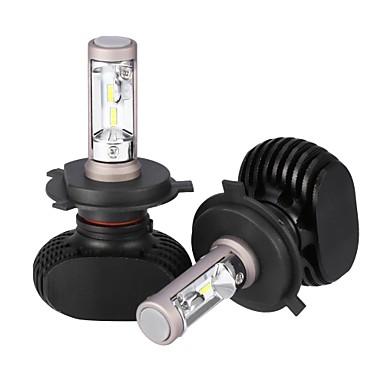 2pcs H4 لمبات الضوء 25 W Integrated LED 2500 lm 12 LED مصباح الرأس 2018