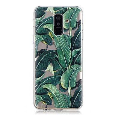 voordelige Galaxy A-serie hoesjes / covers-hoesje Voor Samsung Galaxy A6 (2018) / A6+ (2018) / A3 (2017) Transparant / Patroon Achterkant Boom Zacht TPU
