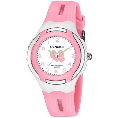 SYNOKE Pánské Dámské Sportovní hodinky Digitální hodinky japonština  Japonské Quartz Z umělé kůže Černá   Modrá bdac7659f2
