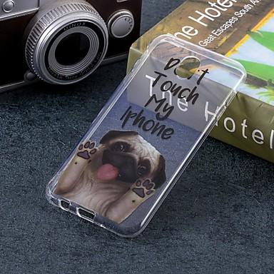 غطاء من أجل Samsung Galaxy J7 (2017) / J5 (2017) / J5 (2016) IMD / نموذج غطاء خلفي كلب ناعم TPU
