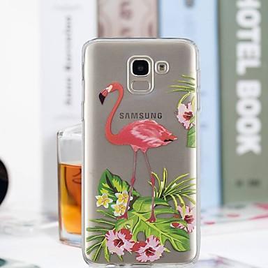غطاء من أجل Samsung Galaxy J7 (2017) / J6 / J5 (2017) شفاف / نموذج غطاء خلفي البشروس طائر مائي ناعم TPU