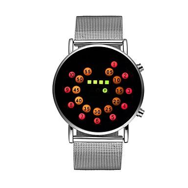Χαμηλού Κόστους Ανδρικά ρολόγια-Ανδρικά Γυναικεία Ρολόι Καρπού Ψηφιακό ρολόι Ψηφιακό Ανοξείδωτο Ατσάλι Ασημί 30 m Χρονογράφος Φωτίζει Απίθανο Ψηφιακό Πολύχρωμα - Σκούρο μπλε Κόκκινο Ενας χρόνος Διάρκεια Ζωής Μπαταρίας / SSUO LR626