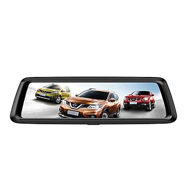 Factory OEM 1080p HD / ليلة الرؤية سائق سيارة 170 درجة زاوية واسعة 12 MP 9.7 بوصة IPS داش كام مع تسجيل غير منتهي / حلقة دورة التسجيل لا مسجل السيارة