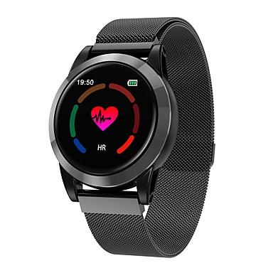 Indear R15 رجالي سوار الذكية Android iOS بلوتوث رصد معدل ضربات القلب شاشة لمس رمادي داكن لون القهوة معلومات عداد الخطى تذكرة بالاتصال متتبع النشاط متتبع النوم تذكير المستقرة / أجد هاتفي / ساعة منبهة