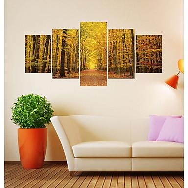 لواصق حائط مزخرفة - لواصق مناظر طبيعية / الأزهار / النباتية غرفة الجلوس / غرفة دراسة / مكتب