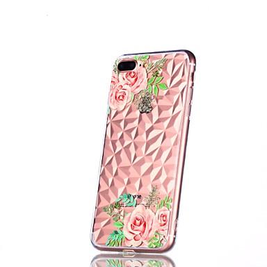 X iPhone Fiore Per Plus retro Apple 8 X Plus Morbido TPU 8 Per disegno decorativo iPhone 06878518 iPhone Transparente iPhone 8 Custodia iPhone per Fantasia w7Etqdt